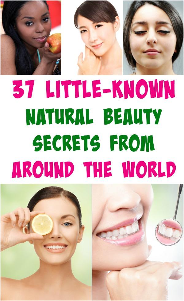 37 Little Known Beauty Secrets