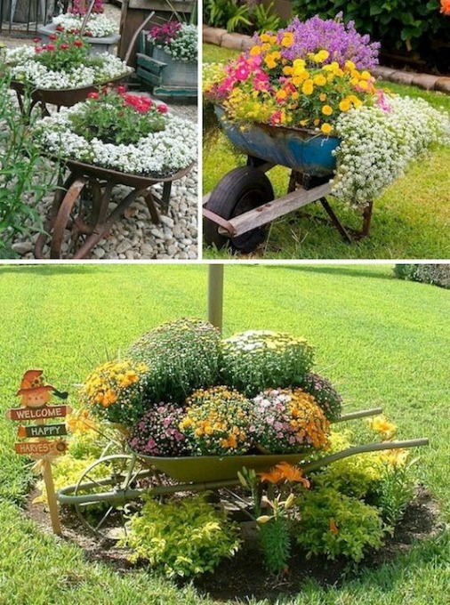 30 Fascinating Low-Budget Garden Pots
