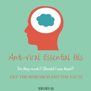 Do Antiviral Essential Oils Work to Fight the Flu
