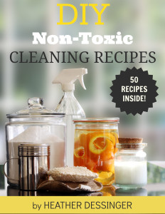 50+ All-Natural, Non-Toxic Cleaning Recipes for the Home