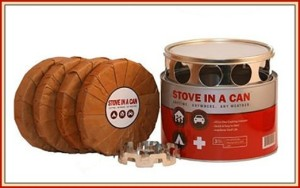 Stove in a Can – Portable Outdoor Stove for Recreation or Survival