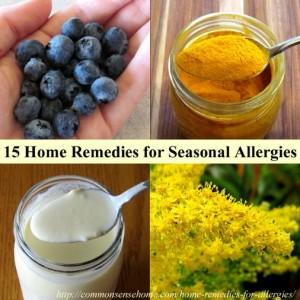 15 Home Remedies for Seasonal Allergies
