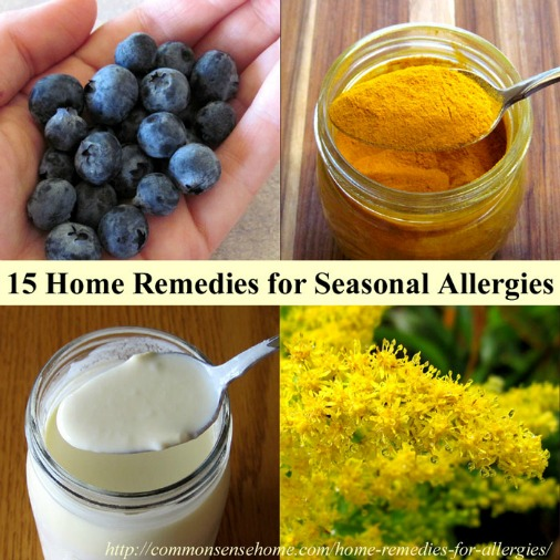 15 Home Remedies for Seasonal Allergies