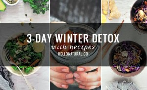 Doable 3-Day Winter Detox with Recipes