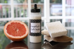 Homemade Soft Scrub Recipe
