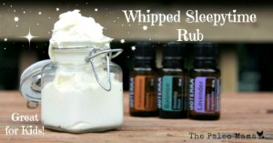 How to Make a Whipped Sleepytime Rub