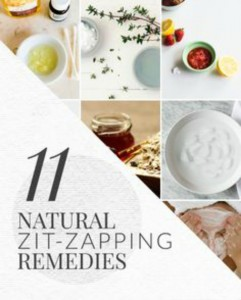 11 Natural Remedies for Zits