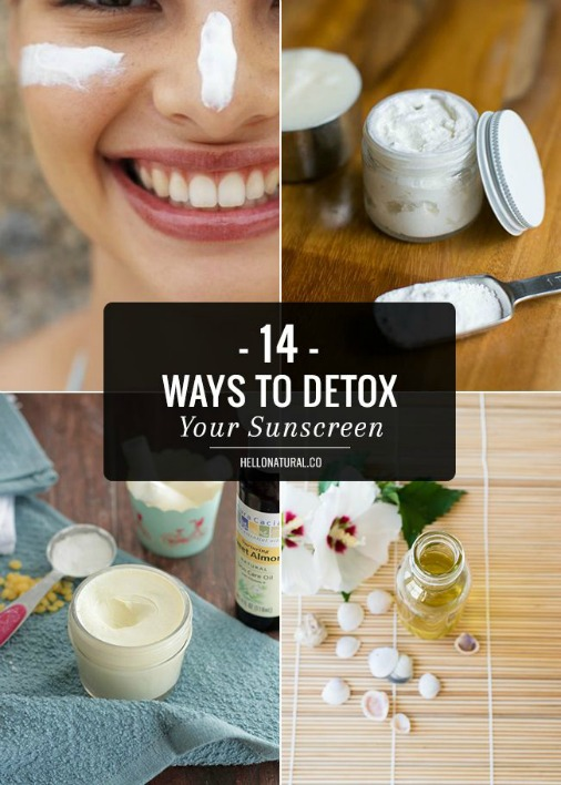 14 Ways to Detox Your Sunscreen