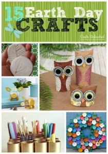 15 Earth Day Crafts (Tutorials)