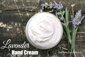 Homemade Lavender Hand Cream Recipe
