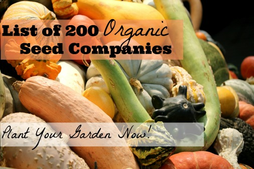 List of 200 Organic Seed Catalogues with Links