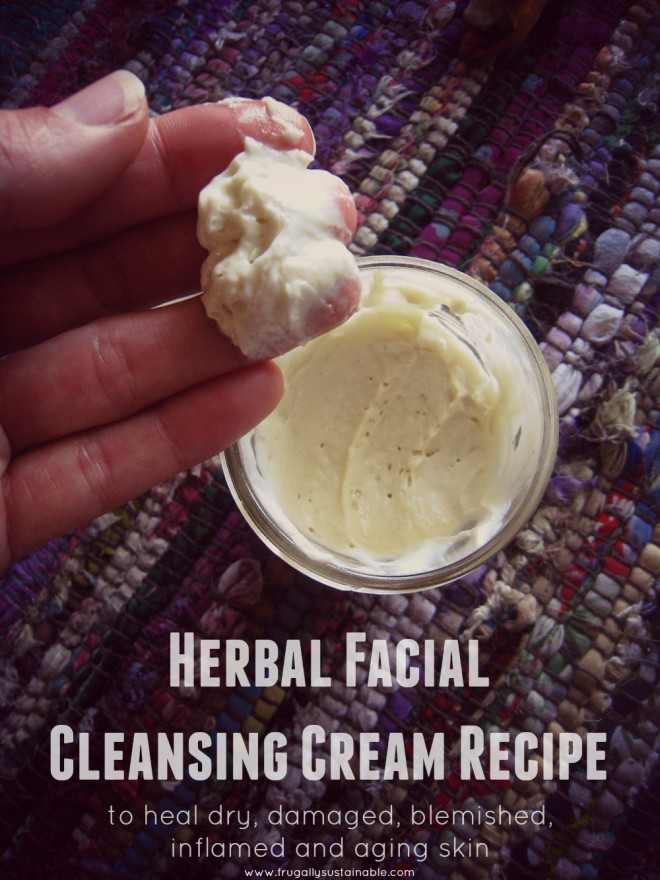 herbal facial cleansing vream