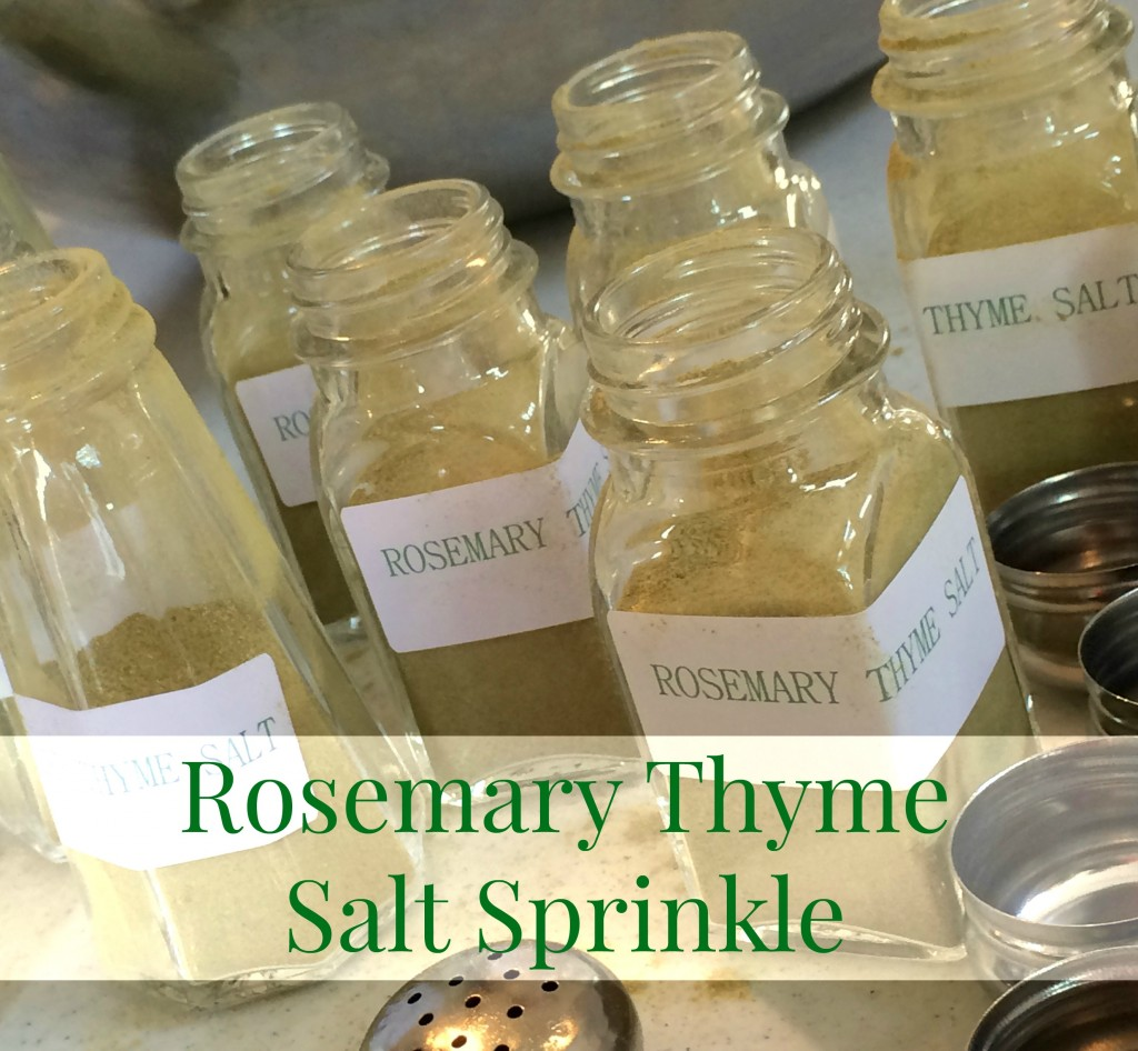 rosemary thyme salt sprinkle
