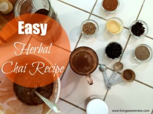The Easiest Herbal Chai Tea Recipe [Video]