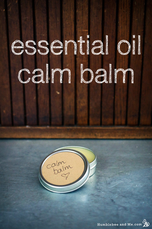 How to Make an Essential Oil Calm Balm