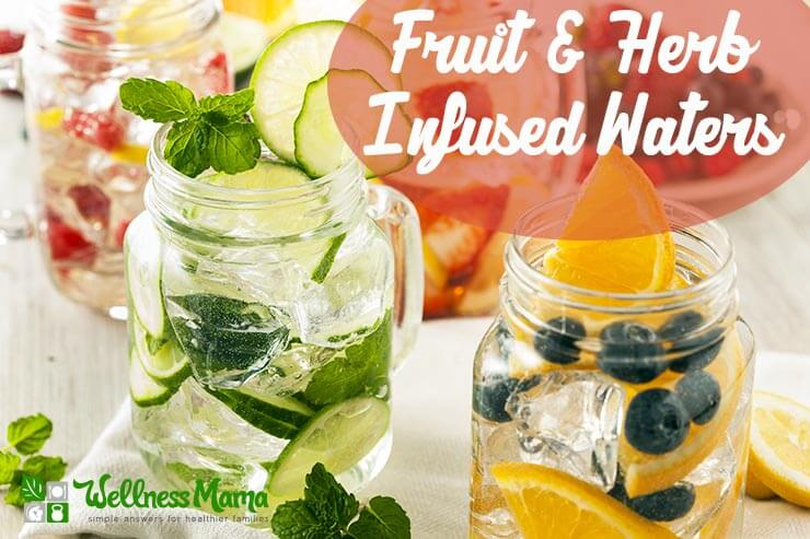 herb & fruit-infused water
