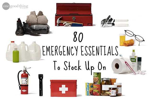 80 Emergency Essentials to Stock Up On