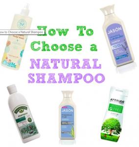How to Choose A Good Natural Shampoo