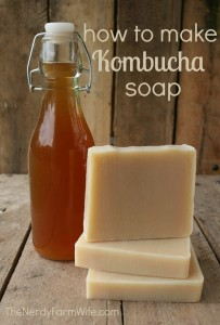 How to Make Kombucha Soap