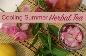 How to Make a Cooling Summer Herbal Tea