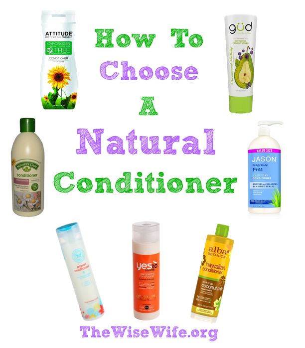 How to Choose a Natural Conditioner