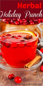 Healthy Herbal Holiday Punch