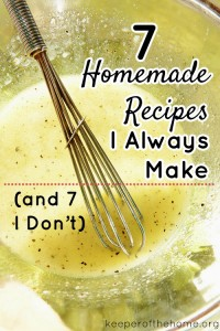 7 Homemade Recipes