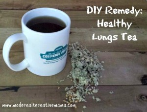 DIY Remedy: Homemade Healthy Lungs Tea