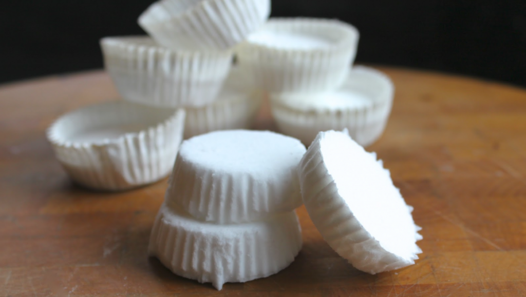DIY Peppermint Shower Soothers