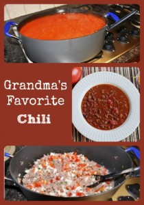 Grandma's Favorite Homemade Chili Recipe