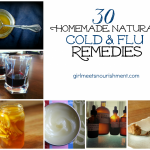 30 Homemade Natural Cold & Flu Remedies