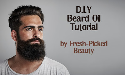 Homemade Beard Oil