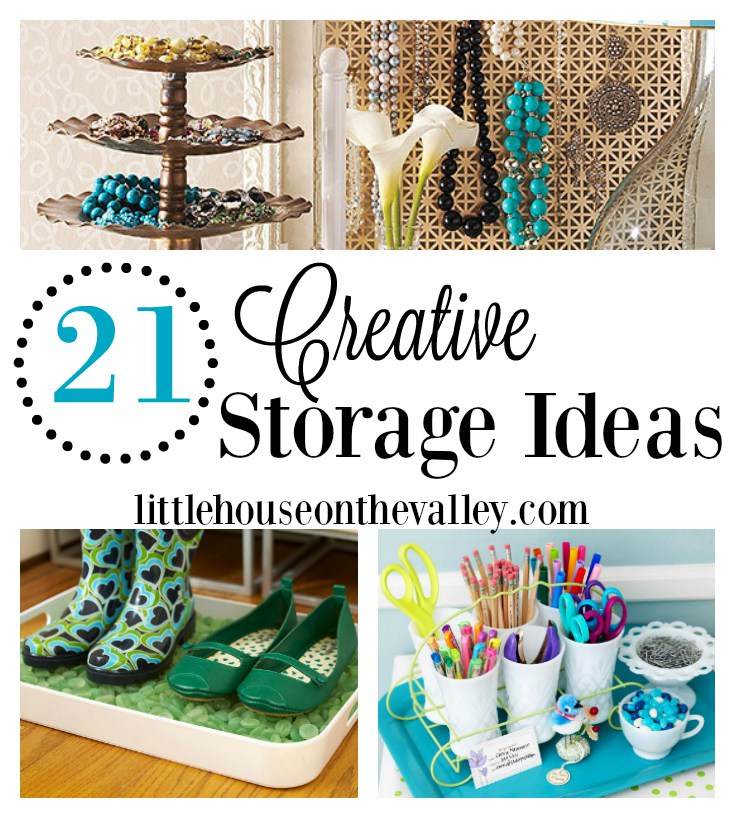 21 Creative Storage Ideas