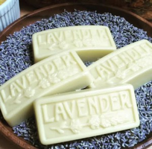 Homemade Lavender & Calendula Lotion Bars