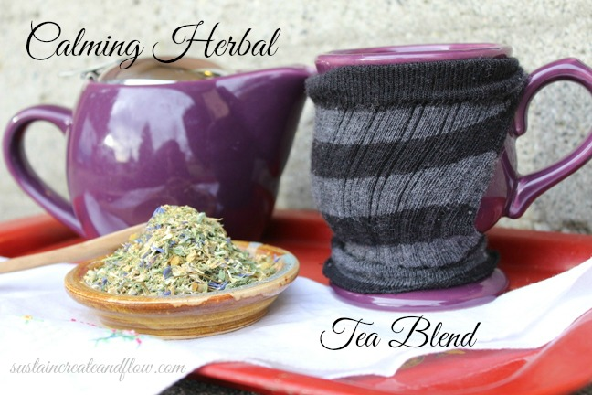 Calming Herbal Tea Blend Recipe