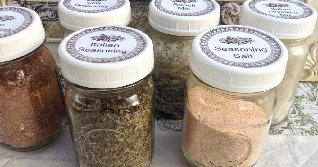 Make Your Own Seasoning Mixes