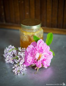 Homemade Lilac Rose Face Mask