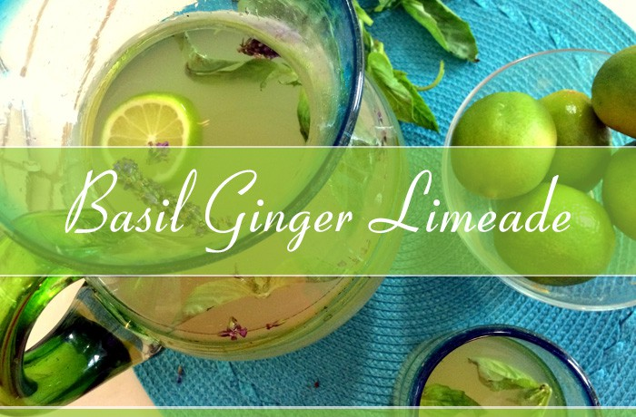 Basil Ginger Limeade Recipe