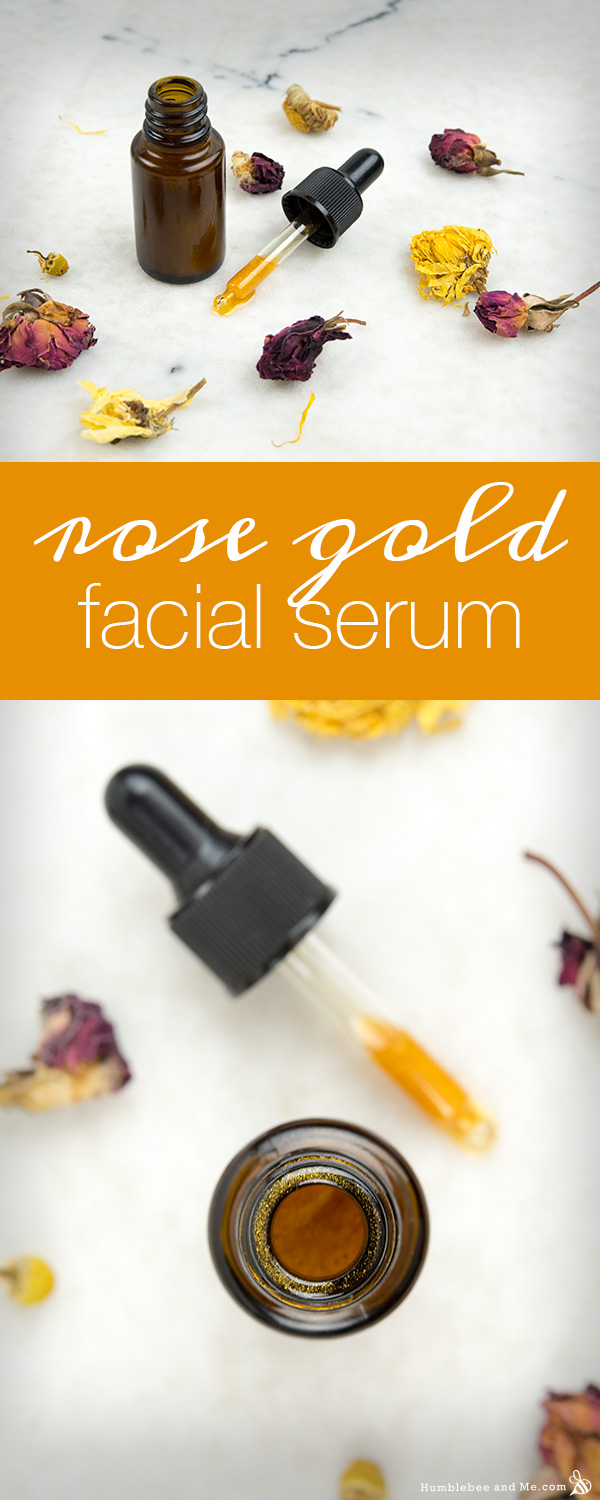 Rose Gold Facial Serum Recipe