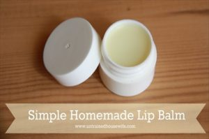 How to Make Homemade Peppermint Lip Balm