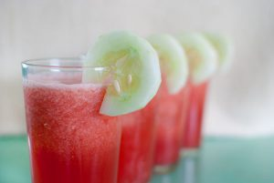 How to Make a Watermelon and Cucumber Cooler (Alcoholic)